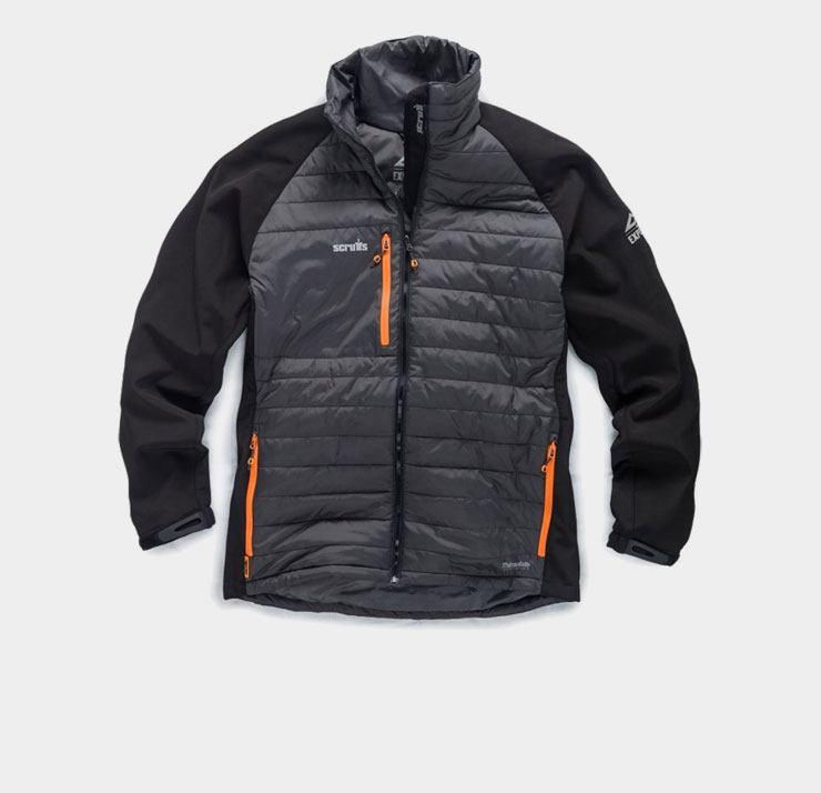 Categorie jassen en bodywamers van Scruffs Hardwear