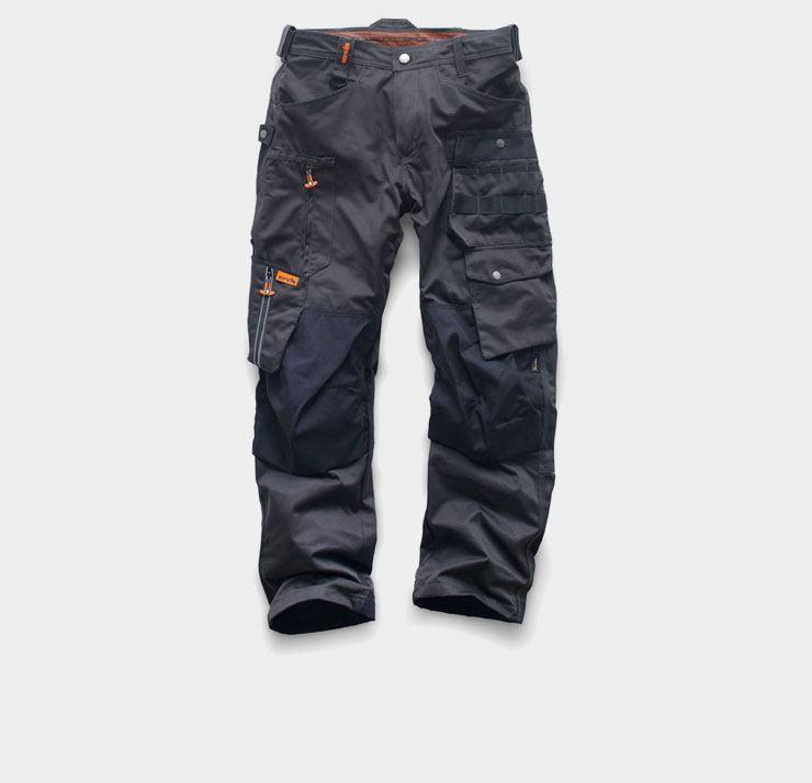 Werkbroeken van Scruffs Hardwear